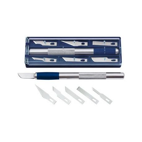 Scalpel de précision Wedo + 6 lames fournies pour scrapbooking