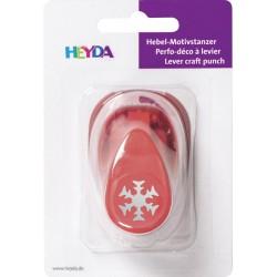 """Perforatrice à motif """"flocon de neige 1"""" - petit modèle - Heyda"""