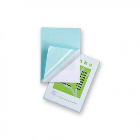 Pochettes plastification A5 80 microns Adhésives