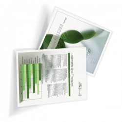 100 Pochettes plastification A3 100 microns mates anti-reflets