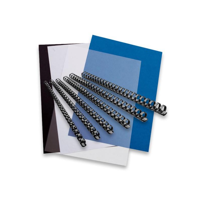 kit de reliure plastique pour relier vos dossiers jusqu 39 80 feuilles. Black Bedroom Furniture Sets. Home Design Ideas