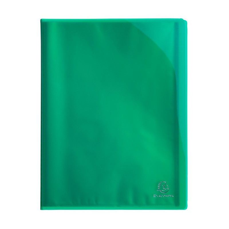 Porte vues exacompta 40 vues iderama 10 couleurs au for Porte vues couverture personnalisable