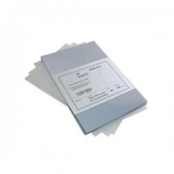 100 Plats couverture A5 en PVC 15/100 (150 microns) brillants