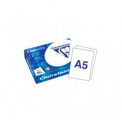 500 feuilles de papier blanc A5 Clairalfa - 80 gr/m²