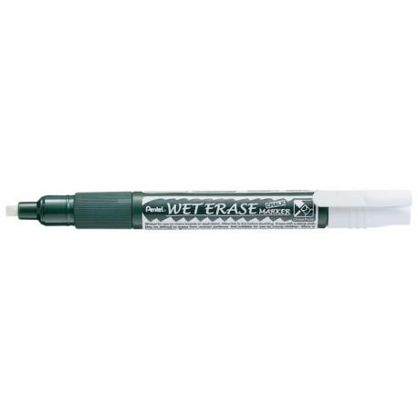 Marqueur Craie effaçable Pentel - Wet Erase - pointe biseautée 2x4.6 mm