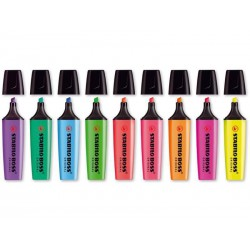 Surligneur STABILO BOSS Original - tracé 2-5 mm - 12 coloris au choix
