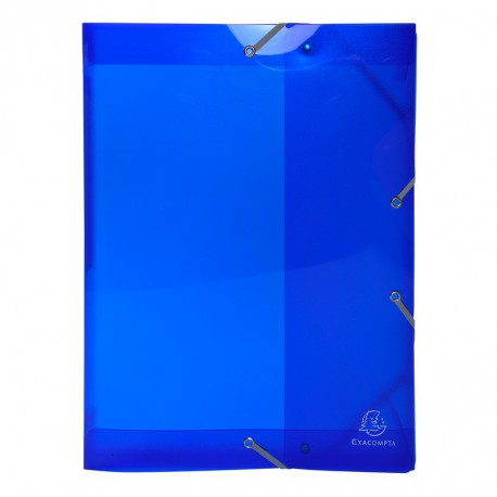 Boite de classement dos 40 mm - Exacompta - Gamme Iderama PP - 8 couleurs au choix