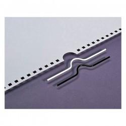 100 Crochets pour calendrier couleur métal- 70 mm