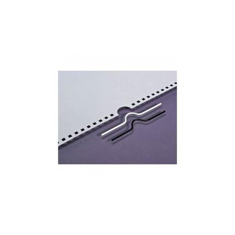 100 Crochets pour calendrier noirs - 105 mm