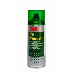 Colle en spray 3M Remount 400 ml - adhésif repositionnable