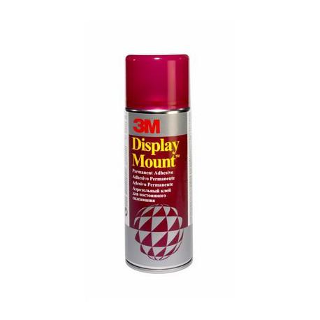 Colle en spray 3M Display Mount 400 ml - adhésif permanent