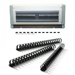 Bloc de perforation pour COMBO, 21 Trous rectangulaires Reliure plastique