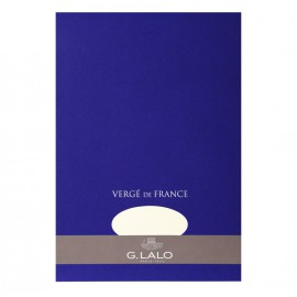 Bloc de papier Vergé blanc - 50 feuilles détachables 100 g - G. Lalo