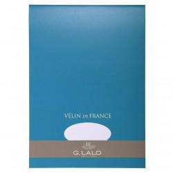 Bloc de papier Vélin blanc - 50 feuilles détachables 100 g - G. Lalo
