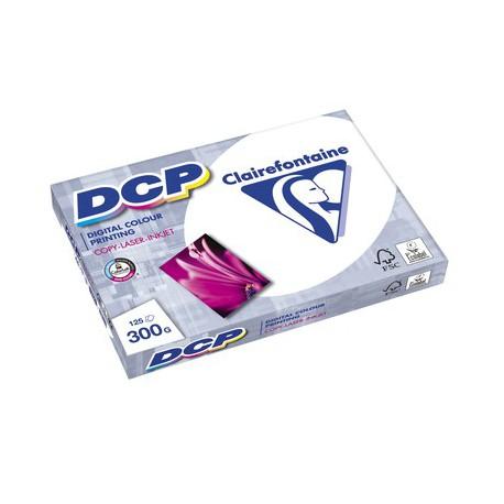 125 feuilles de papier blanc A4 DCP 300 gr/m² de Clairefontaine