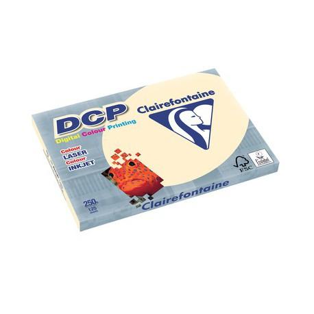125 feuilles de papier ivoire A3 DCP 250 gr/m² de Clairefontaine
