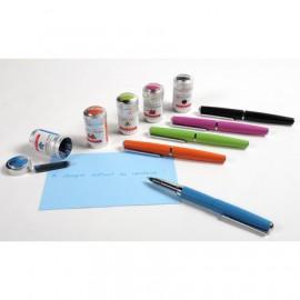 Stylo roller en métal à cartouches Herbin - 5 couleurs au choix