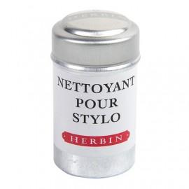 Boîte de 6 cartouches nettoyantes Herbin