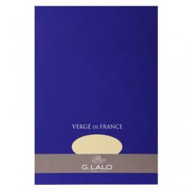 Bloc de papier Vergé champagne - 50 feuilles détachables 100 g - G. Lalo