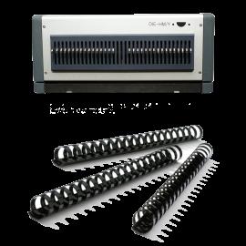 Bloc de perforation pour D600, 21 Trous rectangulaires Reliure plastique