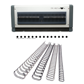 Bloc de perforation pour D600, 23 Trous ronds Reliure métal 2:1