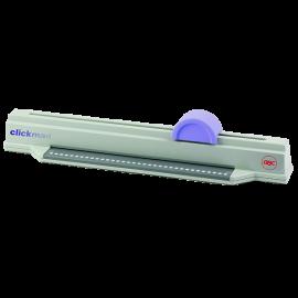 GBC Clickman - Relieur 34 trous par peignes click + Kit de Reliure