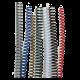 25 Spirales plastiques Coil 28 mm 59 boucles - Pas 5:1