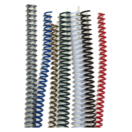 Spirales plastiques Coil 22 mm 59 boucles - Pas 5:1