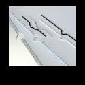 100 Crochets pour calendrier Blancs - 105 mm