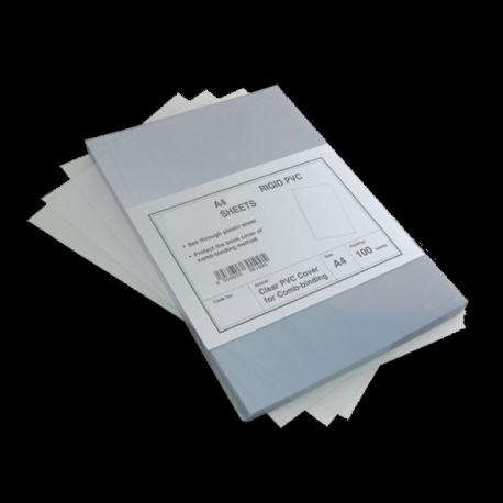 100 Plats couverture PVC 15/100 brillants