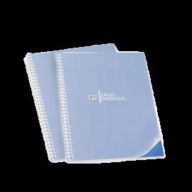 100 Plats de couverture PVC 300 microns semi transparents mats