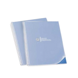 100 Plats de couverture PVC 500 microns semi transparents mats