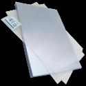 100 Plats couverture PVC A3 18/100 brillants