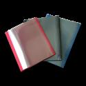 30 Chemises thermiques A4 Grain cuir 3,0 mm - 3 couleurs