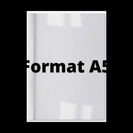 Couvertures thermiques A5 dos blanc 1,5 mm GBC