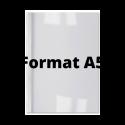 Couvertures thermiques A5 Dos blanc 3,0 mm