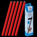 25 baguettes à relier SERODO A4 3 mm - Rouges