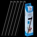25 baguettes à relier SERODO A4 3 mm - Noires