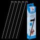 25 baguettes à relier SERODO A4 6 mm - Noires