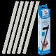 25 baguettes à relier SERODO A4 6mm - Transparentes