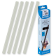 20 baguettes à relier SERODO A4 15 mm transparentes (150 feuilles)