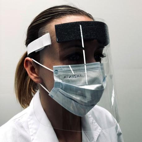 EXASCREEN - visière individuelle de protection du visage contre le Coronavirus