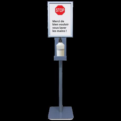 Distributeur de gel et solutions hydro-alcooliques