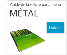 Guide pour comprendre la reliure par anneau métal