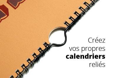 Créez par vous-même un calendrier personnalisé et relié